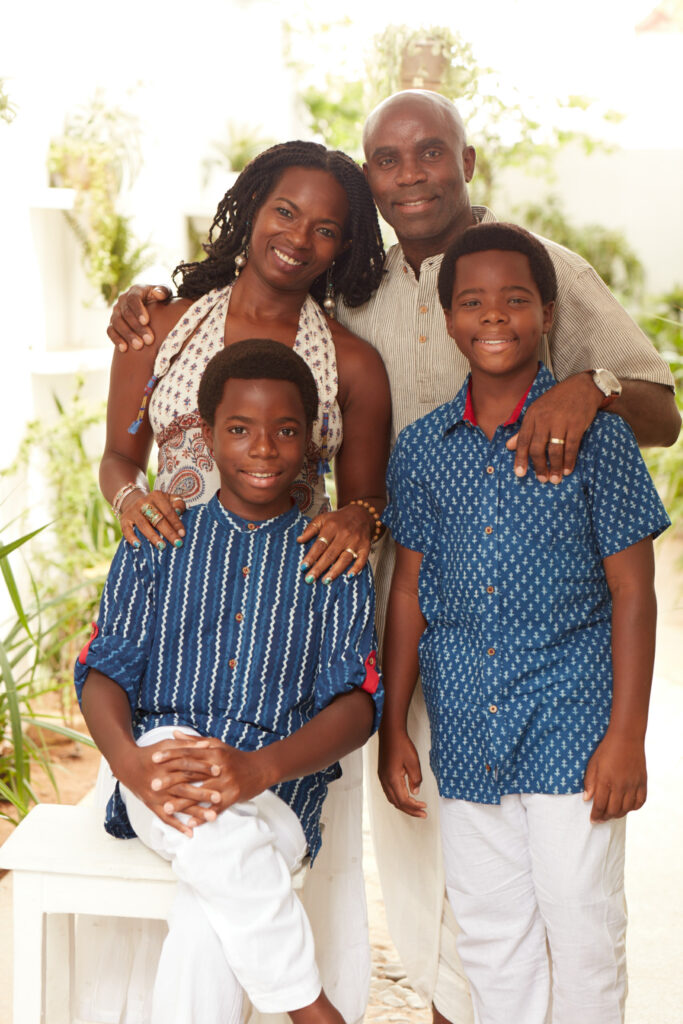 Informative Blogs On Yoga Meditation And Mindfulness Janet Haughton Quarshie And Her Family